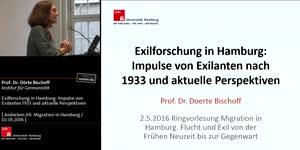 Thumbnail - Exilforschung in Hamburg: Impulse von Exilanten nach 1933 und aktuelle Perspektiven