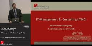 Miniaturansicht - IT-Management und -Consulting (Master)
