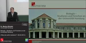 Miniaturansicht - Biologie – Studieren und Forschen an der Universität Hamburg