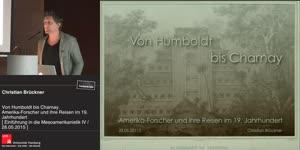 Thumbnail - Von Humboldt bis Charnay. Amerika-Forscher und ihre Reisen im 19. Jahrhundert