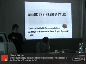 Miniaturansicht - Where the Shadow Falls: Self-Representation and Hybridization in the Film Jane B. par Agnès V. (1988)