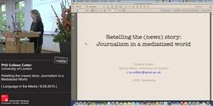 Miniaturansicht - Retelling the (News) Story: Journalism in a Mediatized World
