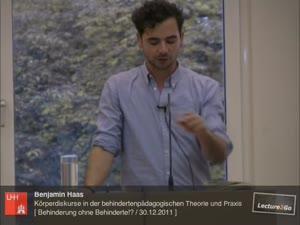 Thumbnail - Körperdiskurse in der behindertenpädagogischen Theorie und Praxis