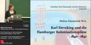 Miniaturansicht - Karl Sieveking und die Kolonisationspläne 1840-1842