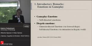 Thumbnail - Affective Spaces in Video Games