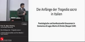 Miniaturansicht - Die Anfänge der »Tragedia sacra« in Italien