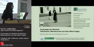 Miniaturansicht - Psychologie der Weisheit: Definitionen, Messversuche und viele offene Fragen