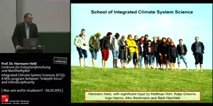 """Miniaturansicht - Integrated Climate System Sciences (ICSS): A MSc program between """"indepth focus"""" and interdisciplinarity"""