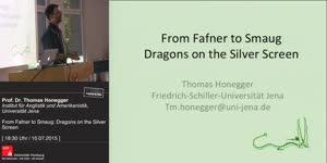 Miniaturansicht - From Fafner to Smaug. Dragons on the Silver Screen