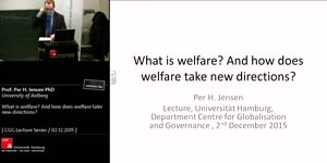 Miniaturansicht - What is welfare? And how doeswelfare take new directions?