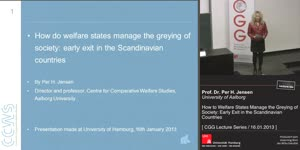 Thumbnail - How do Welfare States Manage the Greying of Society: Early Exit in the Scandinavian Countries