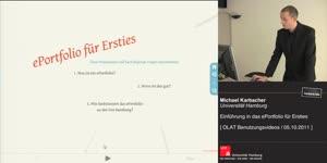 Miniaturansicht - Einführung in das ePortfolio für Ersties