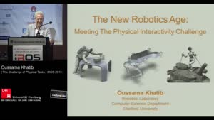 Thumbnail - Day 1 - The New Robotics Age: The Challenge of Physical Tasks (Plenary Session)