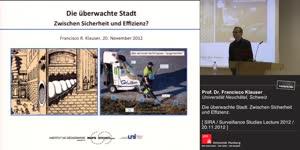 Miniaturansicht - Die überwachte Stadt: zwischen Sicherheit und Effizienz?