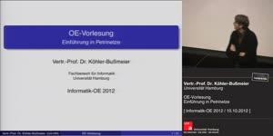 Vorschaubild - OE-Vorlesung: Einführung in Petrinetze