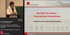Miniaturansicht - Die Welt der Slaven - hanseatische Perspektiven: Slavistik an der Universität Hamburg