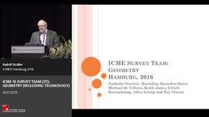 Miniaturansicht - Survey: Nathalie Sinclair: SURVEY TEAM (ST): GEOMETRY (INCLUDING TECHNOLOGY)