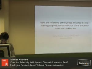 Miniaturansicht - Does the reflexivity of Hollywood cinema influence the real? Ideological Productivity and Value of Pictures in American Blockbusters