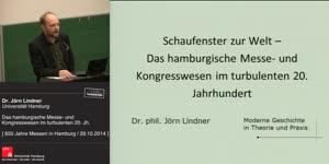 Miniaturansicht - Das hamburgische Messe- und Kongresswesen im turbulenten 20. Jh.