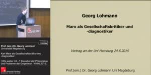 Miniaturansicht - Marx als Gesellschaftskritiker und -diagnistiker
