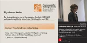 Thumbnail - Migration und Medien: Der Nordwestdeutsche und der Norddeutsche Rundfunk (NWDR / NDR) als integrationspolitischer Akteur in der Flüchtlingskrise nach 1945
