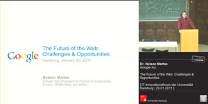 Miniaturansicht - The Future of the Web: Opportunities & Challenges