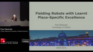 Thumbnail - Day 1 - Practice makes Perfect? The Role of Place Dependent Expertise in Mobile Robotics (Plenary Session)
