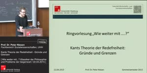 Miniaturansicht - Kants Theorie der Redefreiheit - Gründe und Grenzen