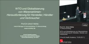 Miniaturansicht - WTO und Globalisierung von Warenströmen: Herausforderung für Hersteller, Händler und Verbraucher