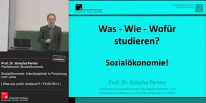 Miniaturansicht - Sozialökonomie: Interdisziplinär in Forschung und Lehre