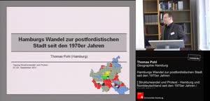 """Miniaturansicht - Hamburgs Wandel zur postfordistischen Stadt (Sektion """"Zum Spannungsverhältnis von Stadt und Land"""" II)"""