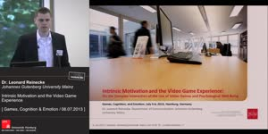 Thumbnail - Intrinsic Motivation and the Video Game Experience. On the Complex Interaction of the Use of Video Games and Psychological Well-Being