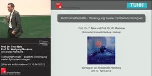 Miniaturansicht - Technomathematik – begehrte Vereinigung zweier Spitzentechnologien