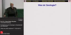 Miniaturansicht - Die Bedeutung der Geologie in Gesellschaft und Wirtschaft