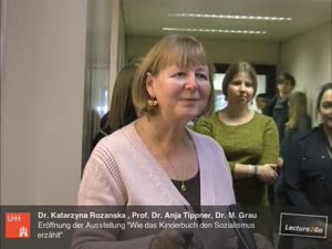 """Miniaturansicht - Eröffnung der Ausstellung """"Wie das Kinderbuch den Sozialismus erzählt"""""""