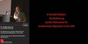 Thumbnail - In Kontakt bleiben: Die Bedeutung sozialer Netzwerke für mexikanische Migranten in den USA