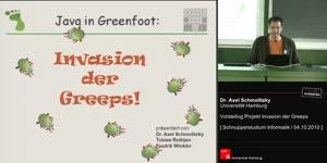"Miniaturansicht - Vorstellung Projekt ""Greenfoot - Greeps"""