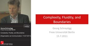 Vorschaubild - Complexity, Fluidity, and Boundaries