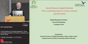 Miniaturansicht - Cultural Memory & Digital Mediation: Three contrasting projects in Armenia, Australia and South Africa