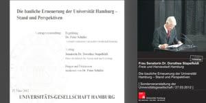 Miniaturansicht - Die bauliche Erneuerung der Universität Hamburg – Stand und Perspektiven
