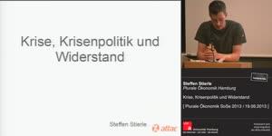 Miniaturansicht - Krise, Krisenpolitik und Widerstand - Vortrag