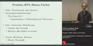 Thumbnail - Proteine, RNS, Hasen und Füchse