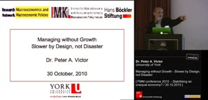 Vorschaubild - Managing without Growth - Slower by Design, not Desaster