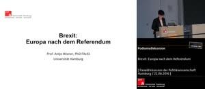 Vorschaubild - Brexit: Europa nach dem Referendum