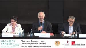 Thumbnail - Flucht und Grenzen - eine historische-politische Debatte