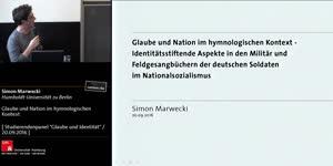 Miniaturansicht - Glaube und Nation im hymnologischen Kontext – Identitätsstiftende Aspekte in den Militär- und Feldgesangbüchern der deutschen Soldaten im Nationalsozialismus