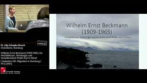 Miniaturansicht - Wilhelm Ernst Beckmann (1909-1965). Holzbildhauer, Hamburger und Sozialdemokrat findet Asyl in Island
