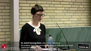 Miniaturansicht - Ein anderes Sprechen von Exil. Hamburg als Referenz für Exil als Lebensperspektive