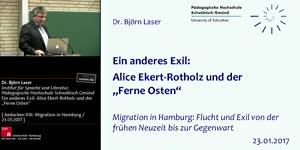 """Miniaturansicht - Ein anderes Exil: Alice Ekert-Rotholz und der """"Ferne Osten"""""""