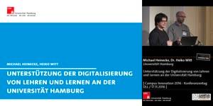 Miniaturansicht - Unterstützung der Digitalisierung von Lehren und Lernen an der Universität Hamburg